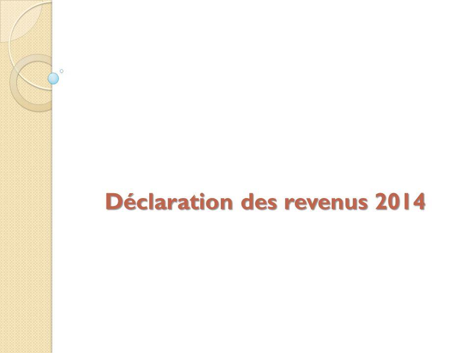 Declaration Des Revenus Ppt Video Online Telecharger