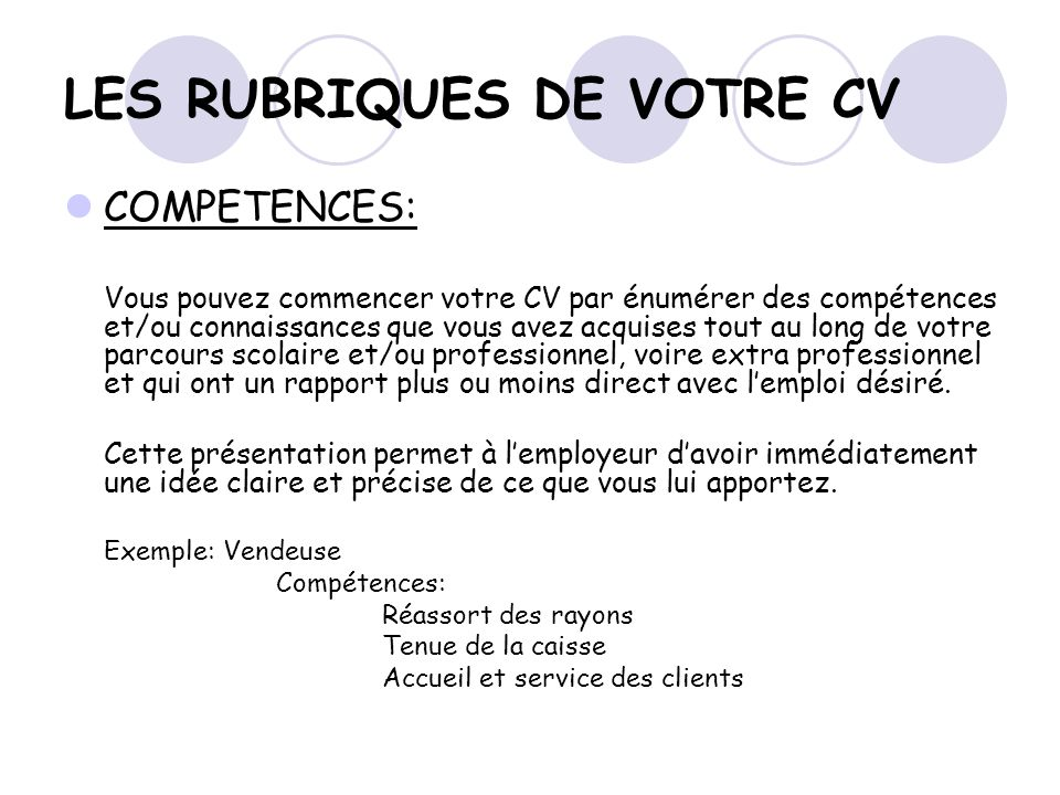 competence maconnerie cv
