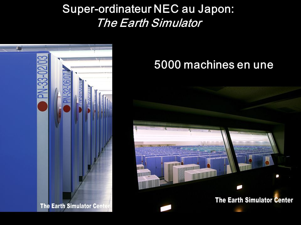 Super-ordinateur NEC au Japon: The Earth Simulator