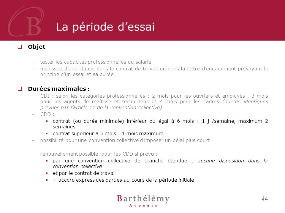 Initiation Au Droit Du Travail Ppt Telecharger