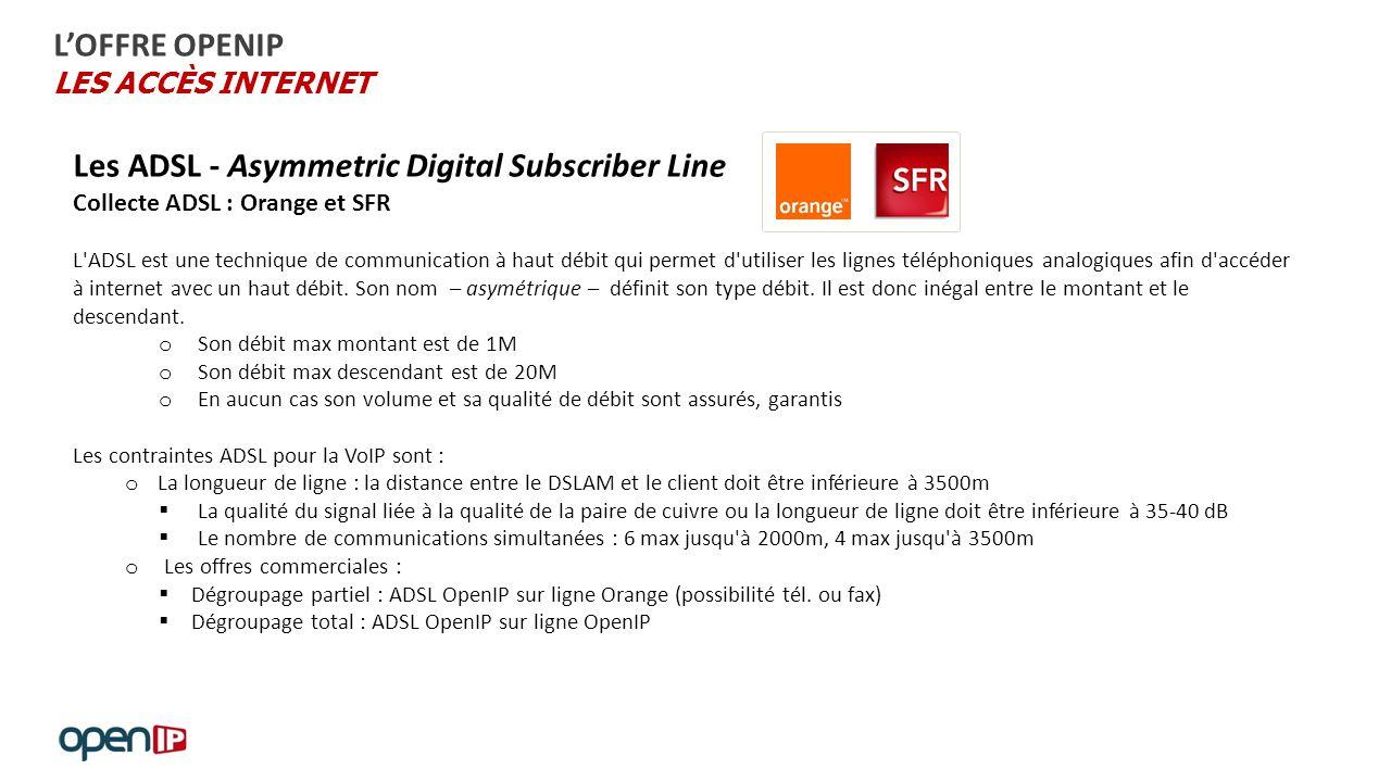 internet débit montant descendant