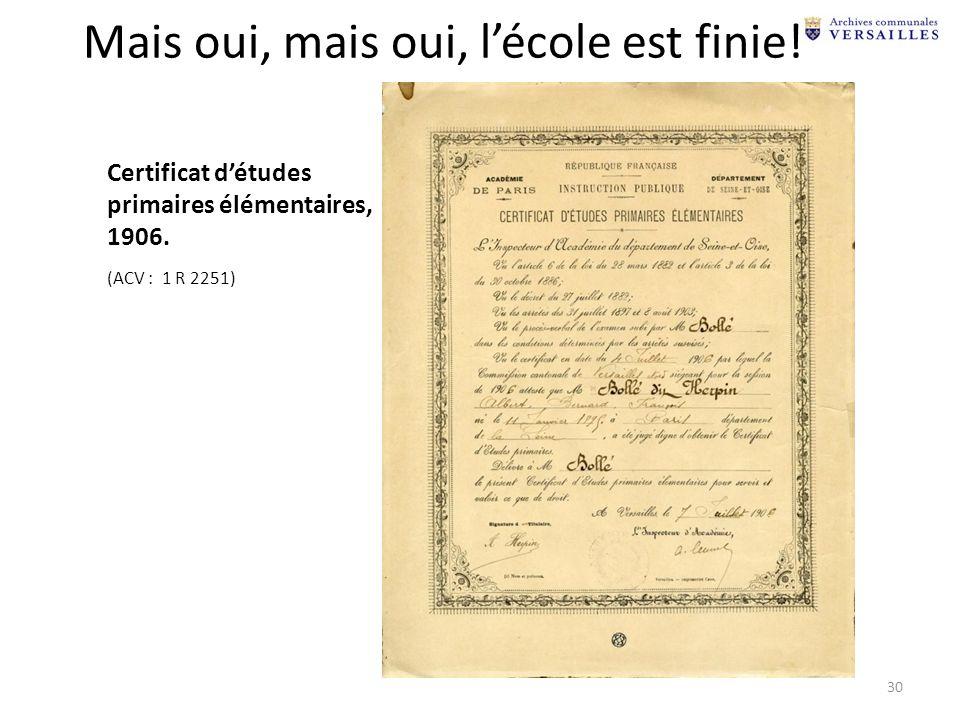 certificat militaire élémentaire