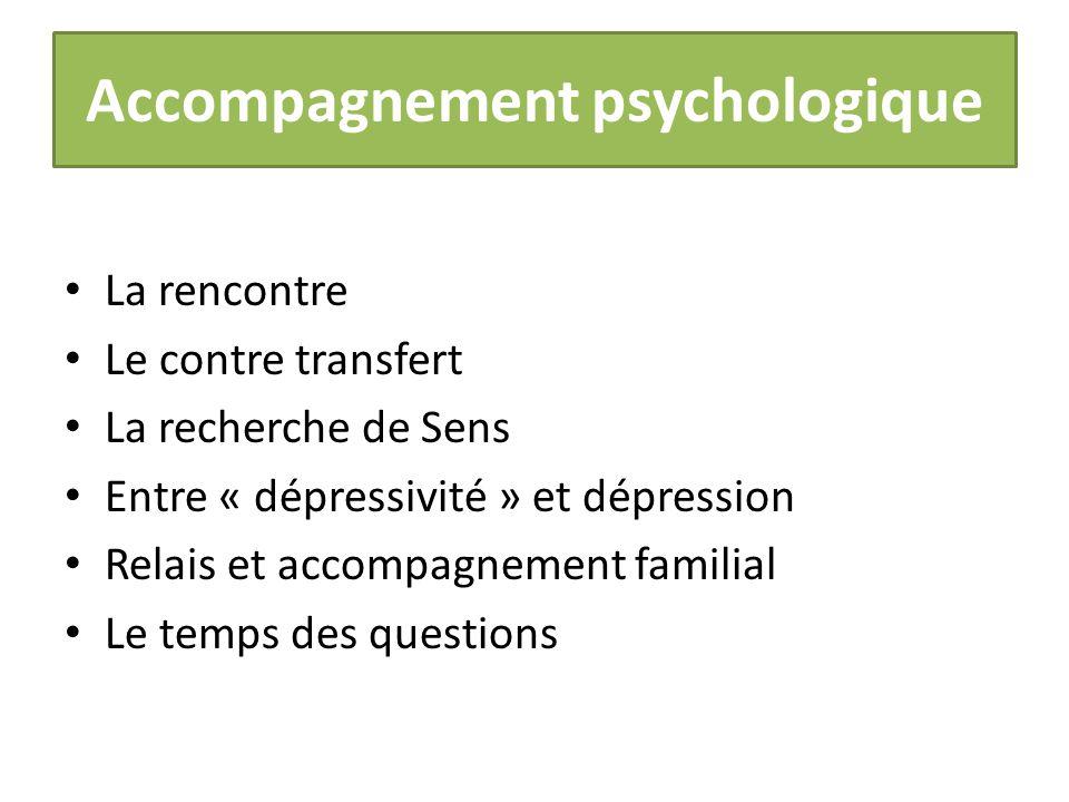 Deroulement rencontre psychologue