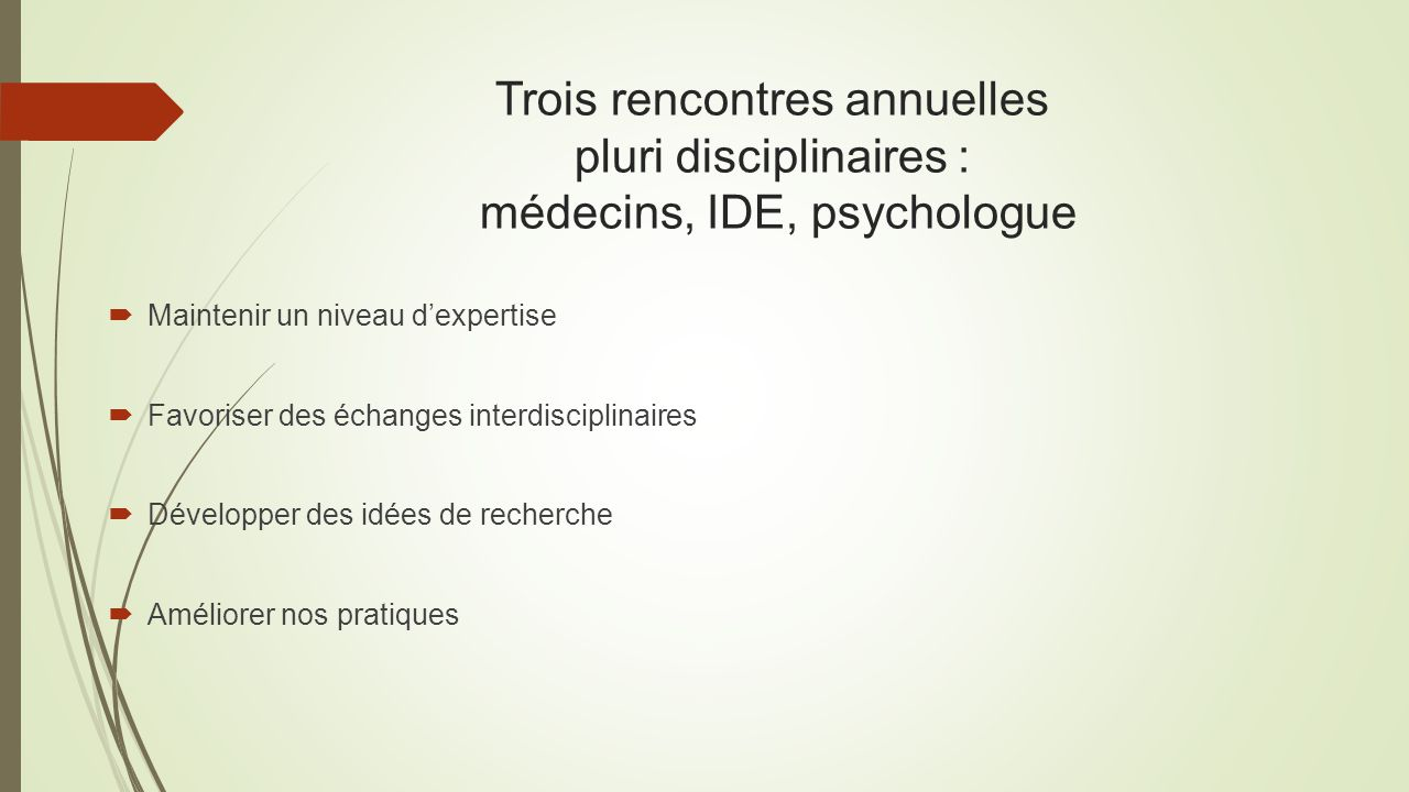 Preparation rencontre psychologue