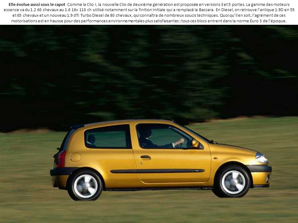Renault Clio 25 Ans En 25 Photos Ppt Telecharger