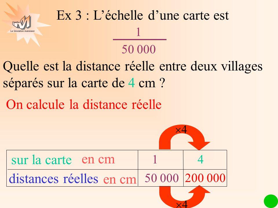 comment calculer l échelle d une carte ECHELLE Définition Calcul de l'échelle Calcul de distances   ppt