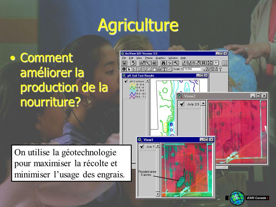17 Agriculture La gographie et les