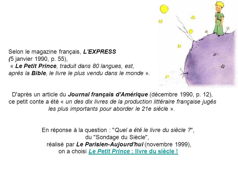 Selon Le Magazine Francais L Express 5 Janvier 1990 P 55