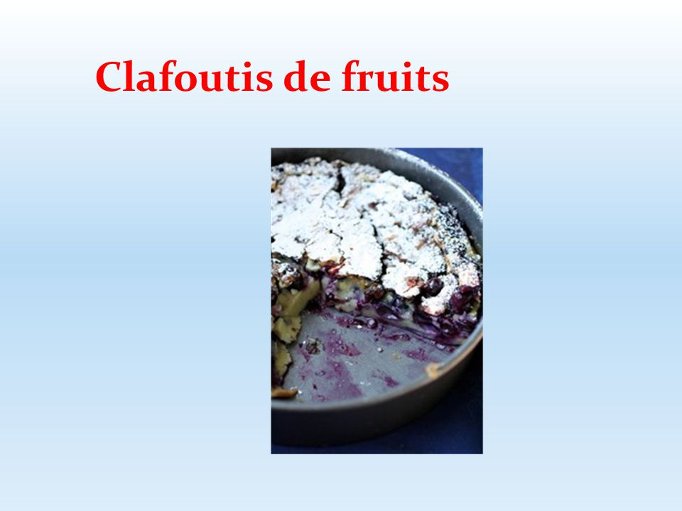 Clafoutis de fruits