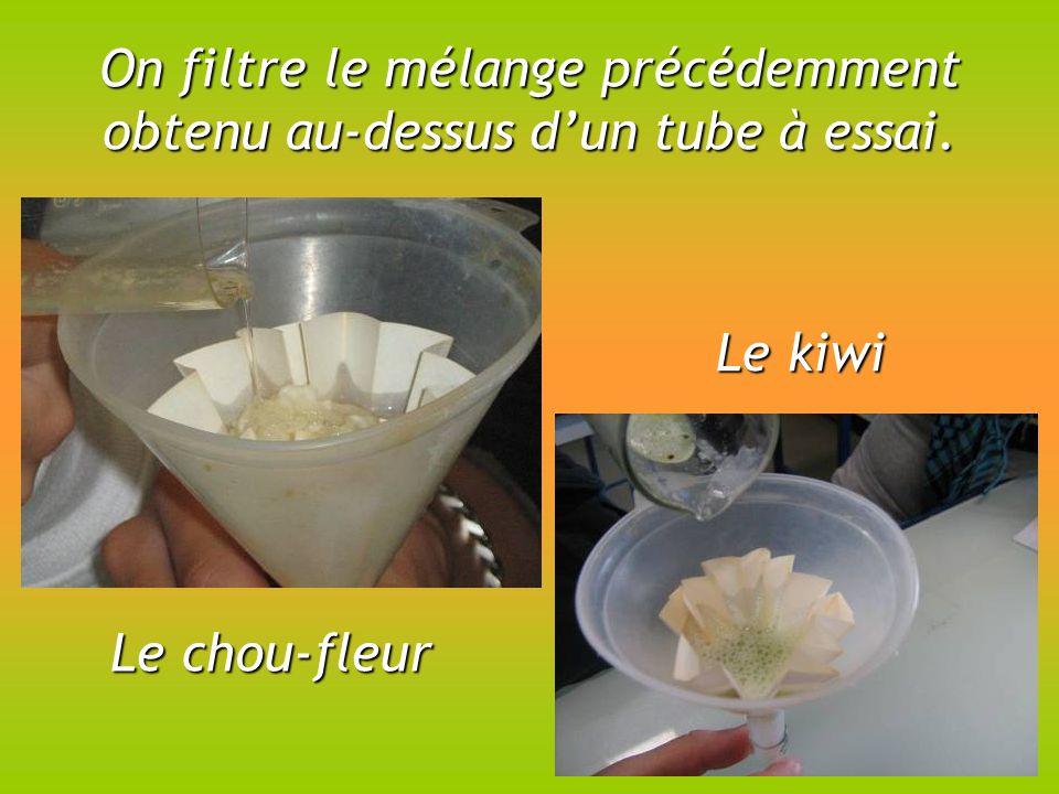 Extraction D Adn Le Chou Fleur Le Kiwi Ppt Telecharger