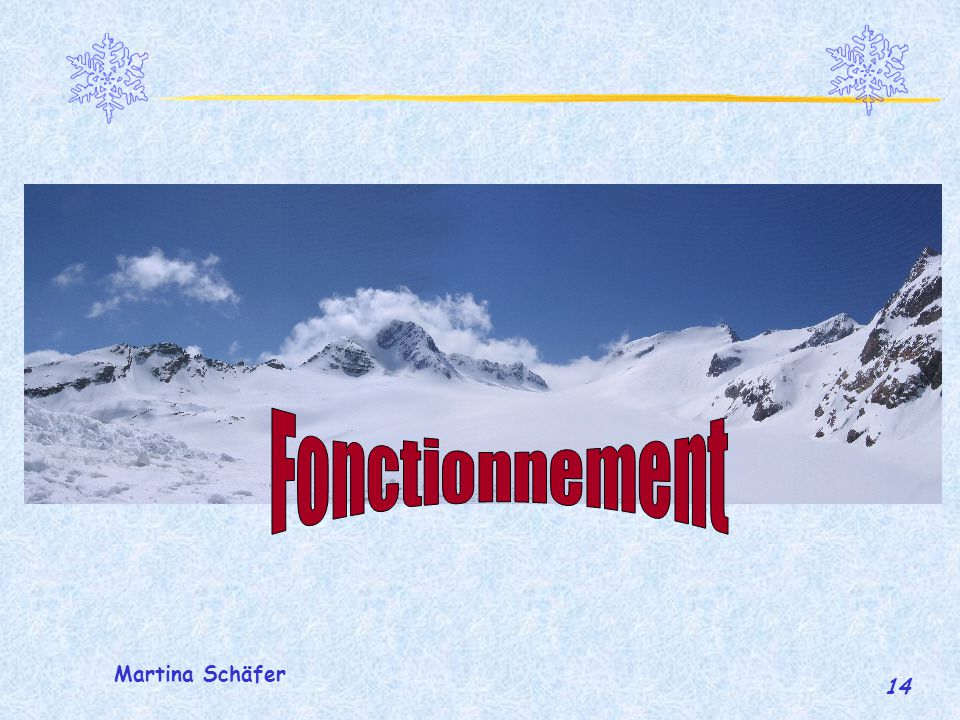 Fonctionnement Martina Schäfer