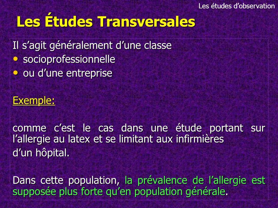Les différents types d études épidémiologiques - ppt video online ... 8633f85870cc