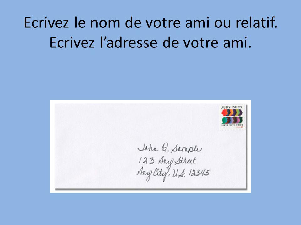 comment envoyer une lettre