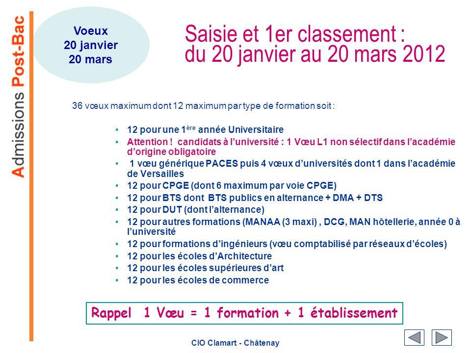 Apres Le Bac L Cio Clamart Chatenay Ppt Telecharger