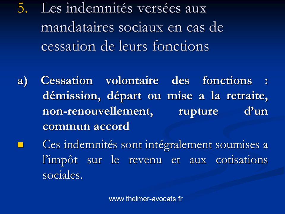 Le Traitement Fiscal Et Social Des Indemnites De Depart Ppt Video