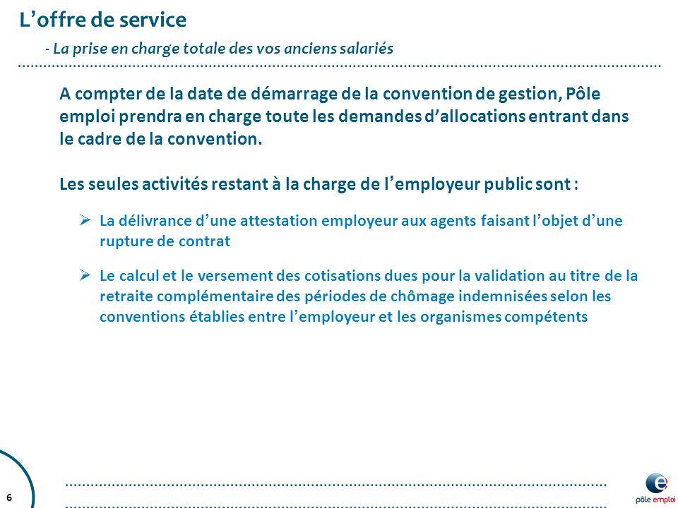 envoyer attestation employeur pole emploi
