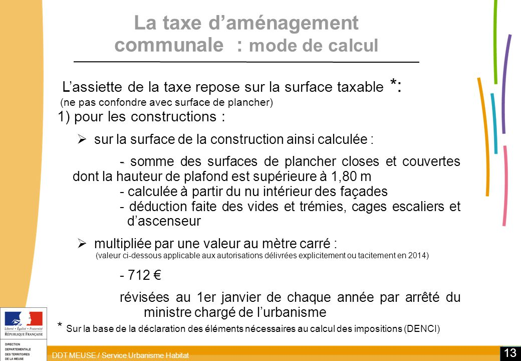 Reforme De La Fiscalite De L Amenagement Ppt Telecharger