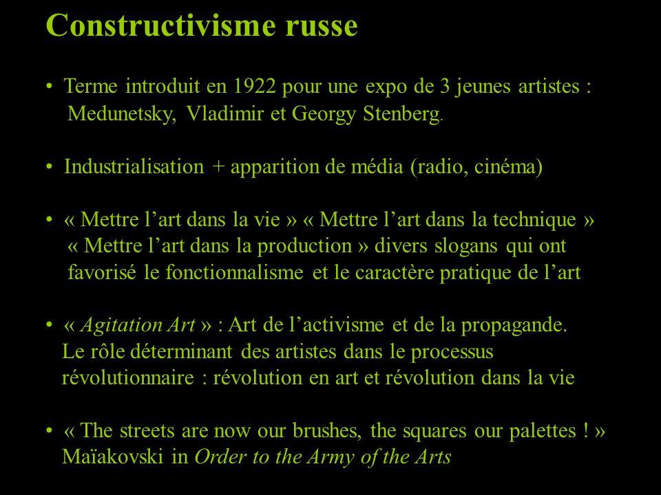 lissitzky constructivisme russe