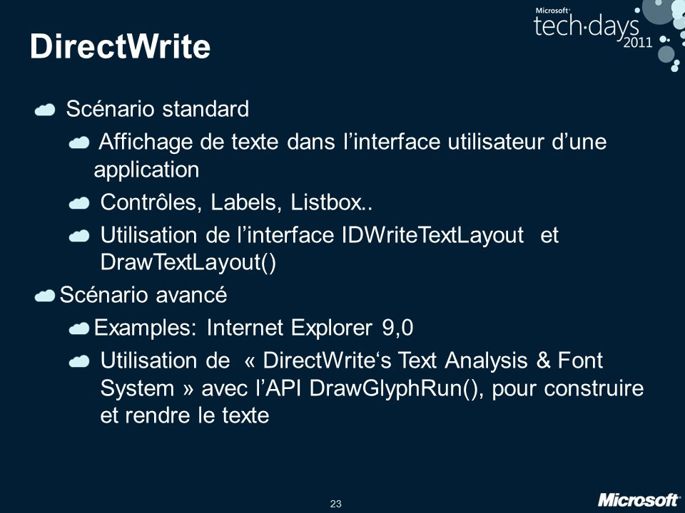 Introducing the DirectWrite Font System