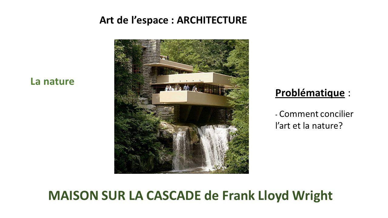 La maison sur la cascade histoire des arts segu maison for Maison de la cascade