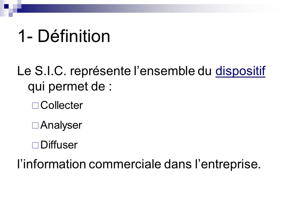 Systeme D Informations Commerciales Ppt Video Online Telecharger