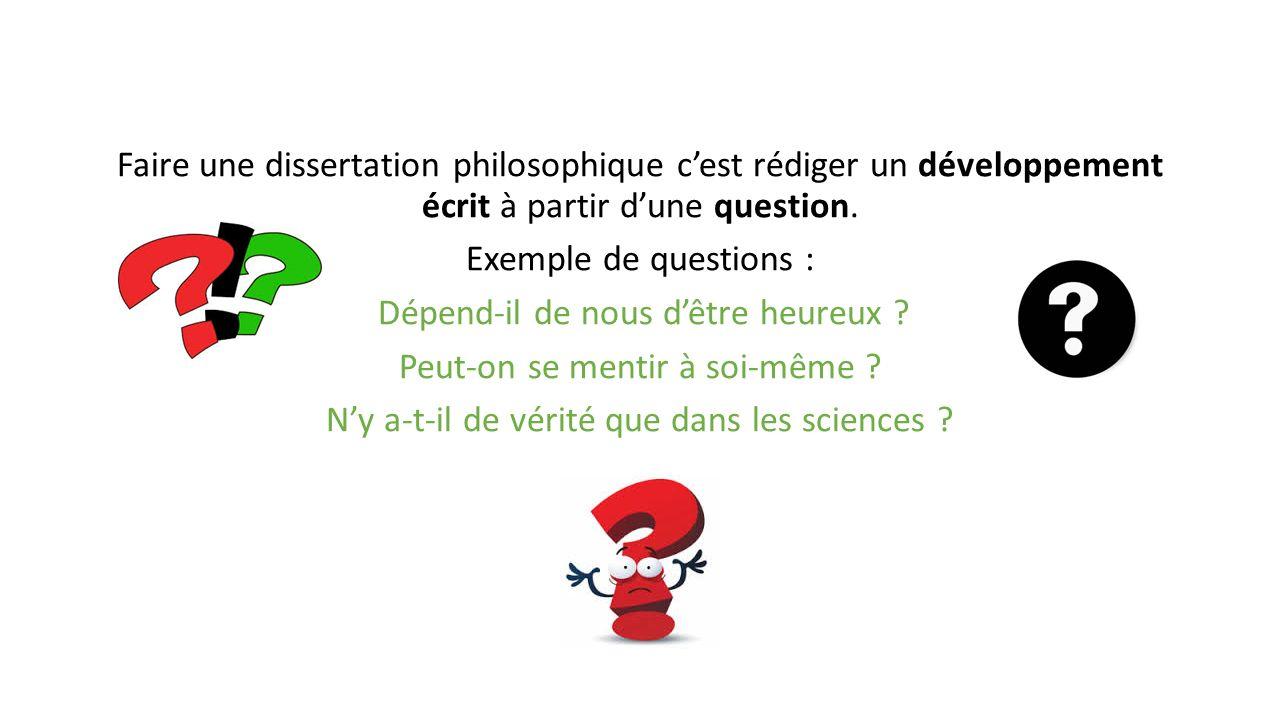 Conclusion dans une dissertation philosophique