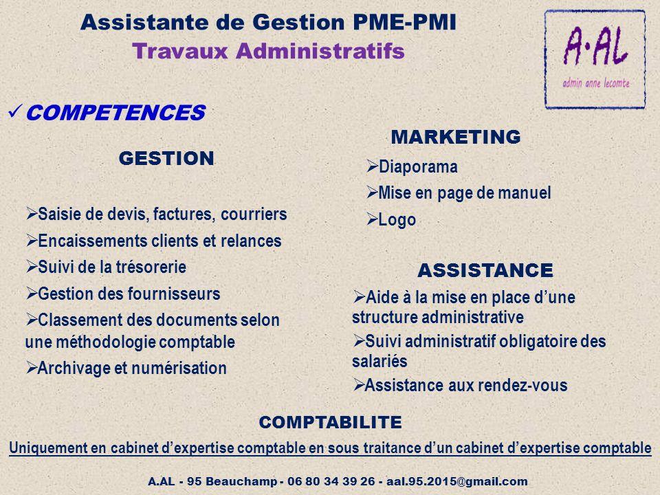Assistante de gestion pme pmi ppt video online t l charger - Classement cabinet expertise comptable ...