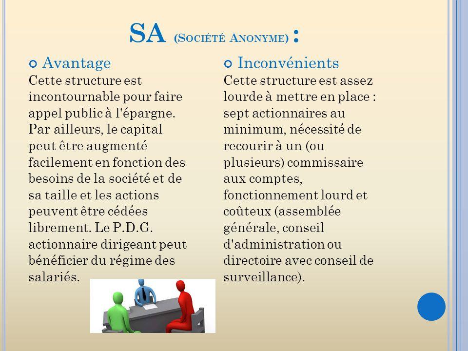 Tableau Comparatif Des Statuts Francais Sa Sarl Scop Ppt Telecharger