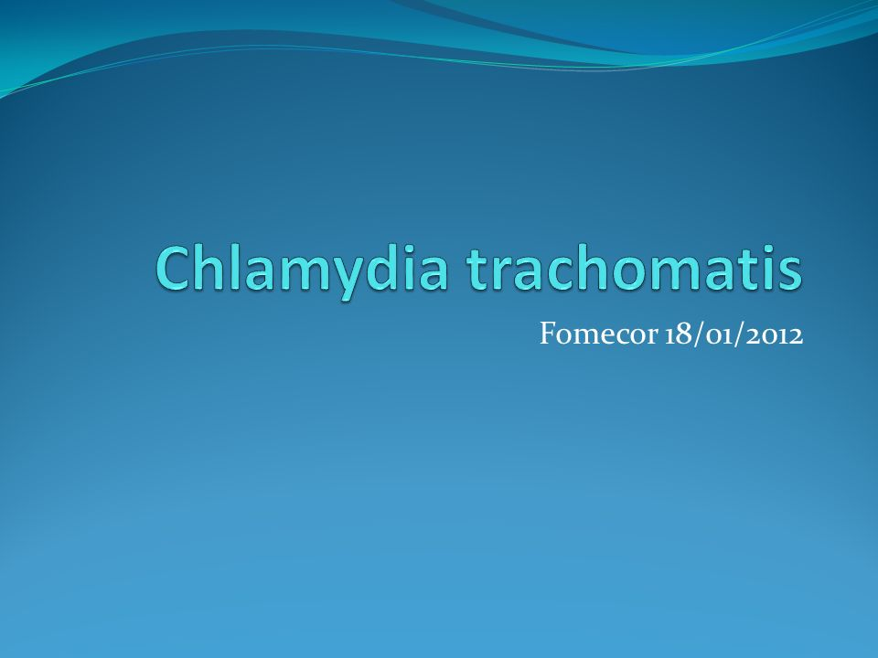 prostatite da chlamydia video