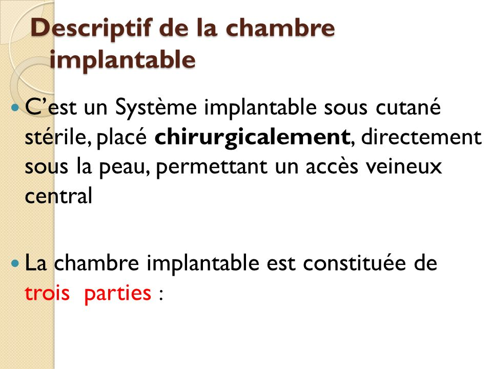 Chambre implantable fabulous product picture enlargement cw product picture enlargement cw with - Chambre implantable definition ...