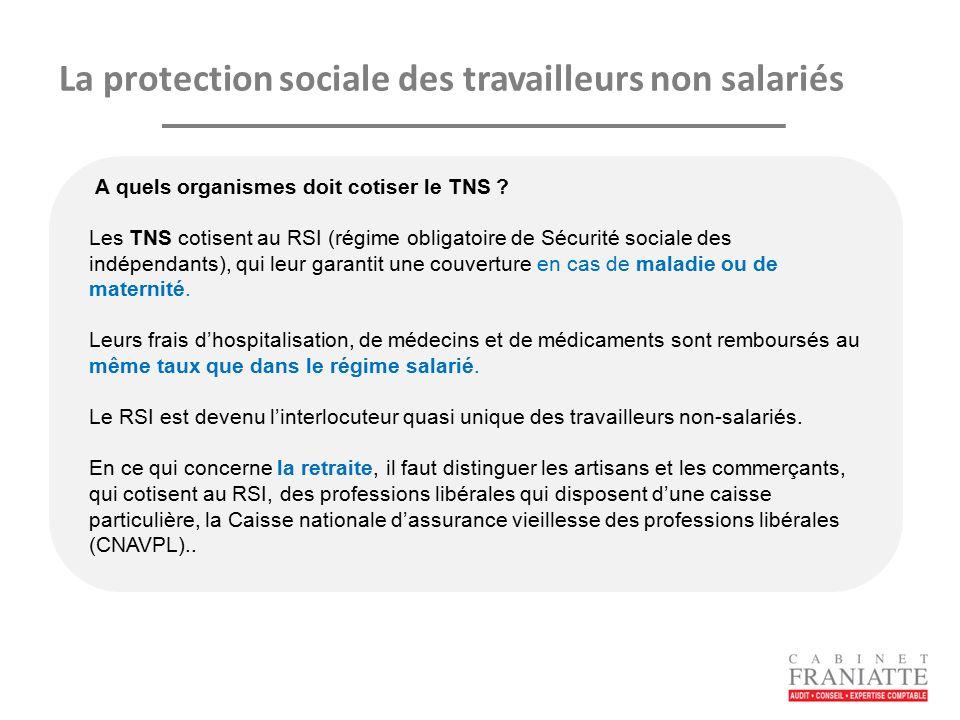 Le Regime Social Des Travailleurs Non Salaries Ppt Telecharger