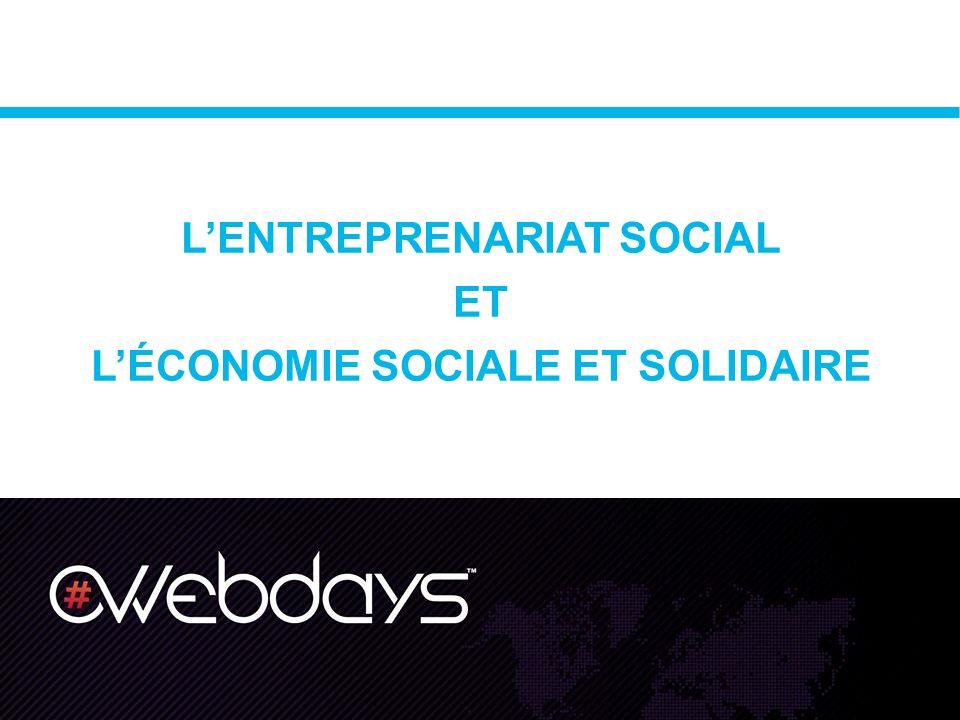 L Entreprenariat Social Et L Economie Sociale Et Solidaire Ppt