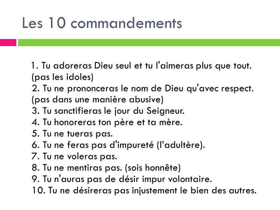 Dieu et les dix commandements ppt video online t l charger - Les tables des 10 commandements ...