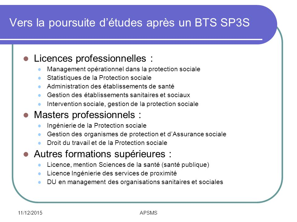étude sanitaire et social