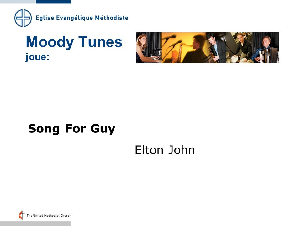 Moody Tunes joue: Song For Guy Elton John Folie 27: