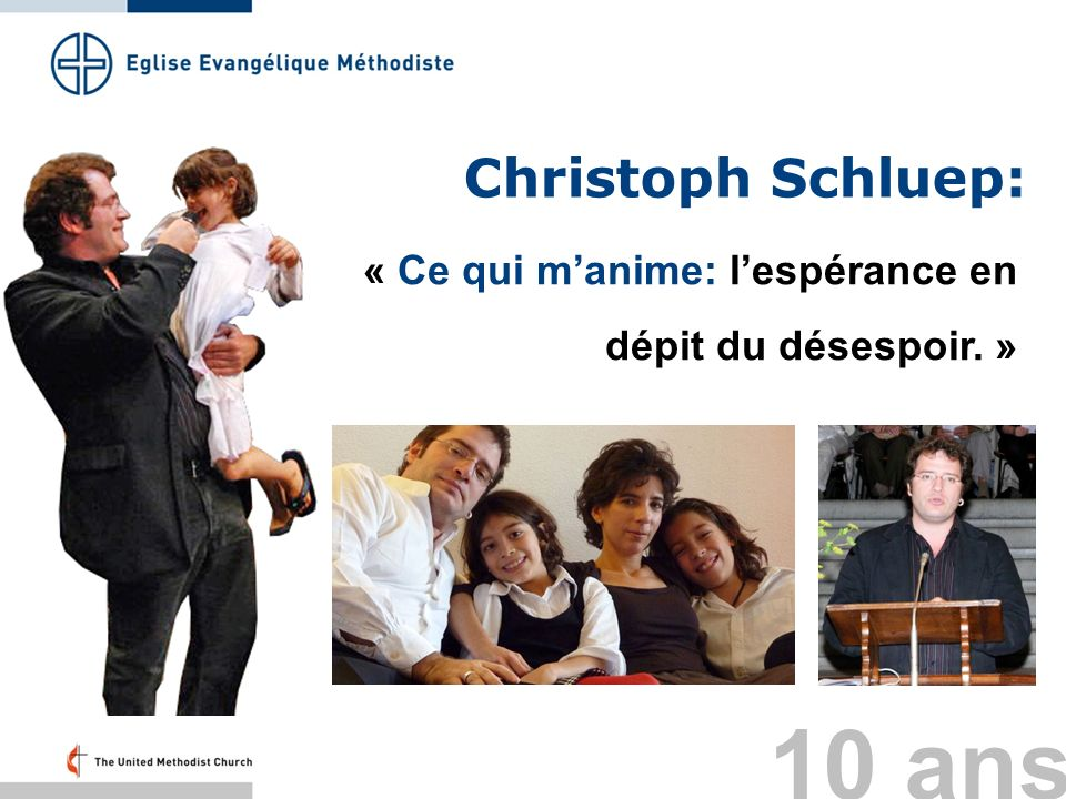 10 ans Christoph Schluep: