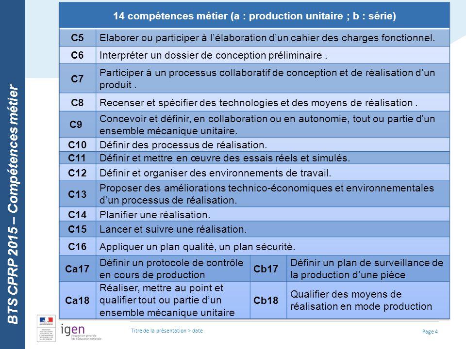 4 Le Bts Conception Des Processus De Réalisation De Produits Ppt