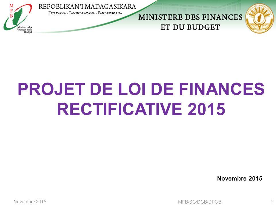Projet De Loi De Finances Rectificative Ppt Telecharger