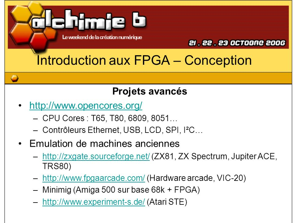 Introduction aux FPGA – Conception