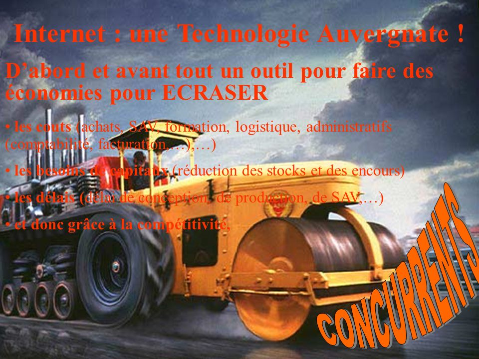 Internet : une Technologie Auvergnate !