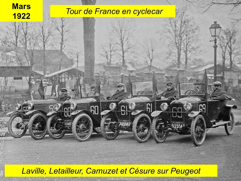 Les cyclecars 5KNA Productions 2015.
