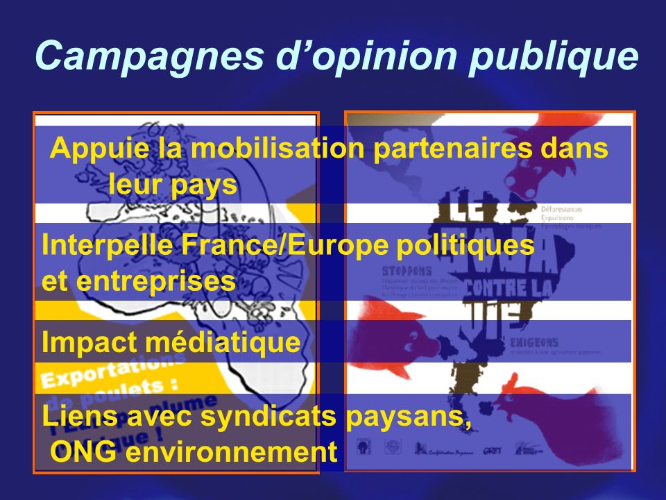 Campagnes d'opinion publique