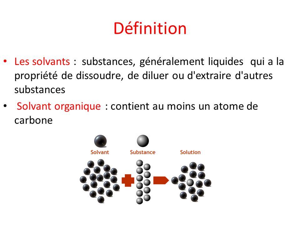 solvant définition chimie