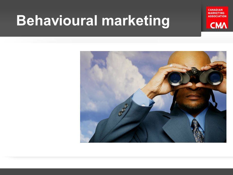 Behavioural marketing