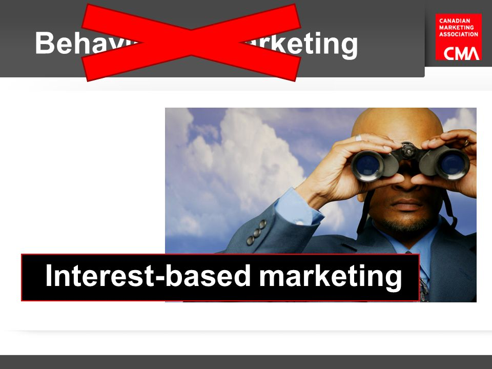 Interest-based marketing