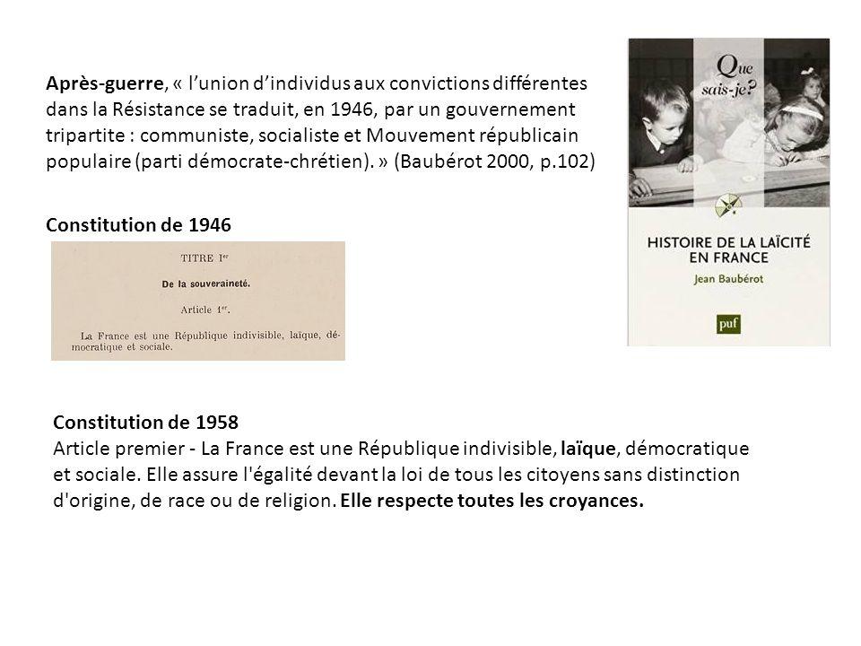 laïc définition français