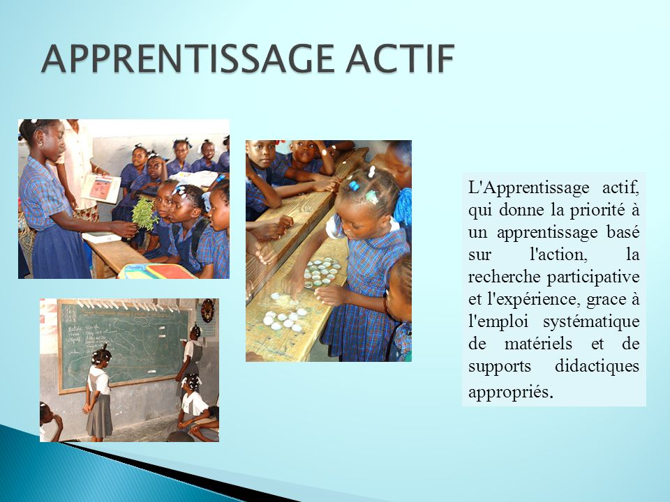 APPRENTISSAGE ACTIF
