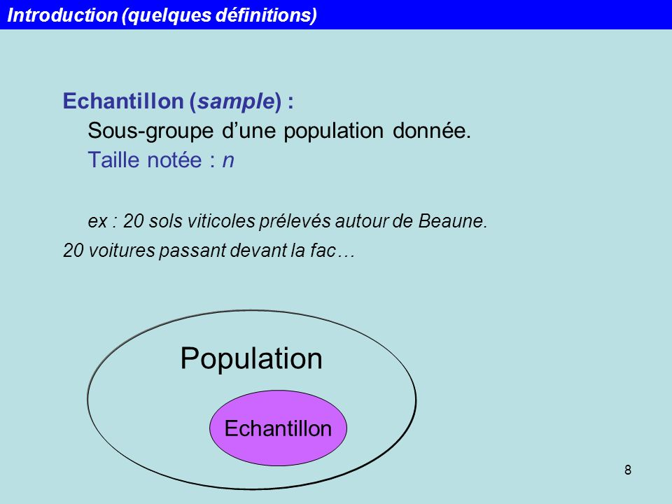 Week 1 Lecture 1 Introduction (quelques définitions)