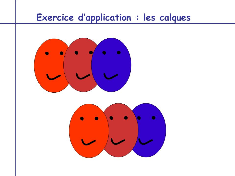Exercice d'application : les calques