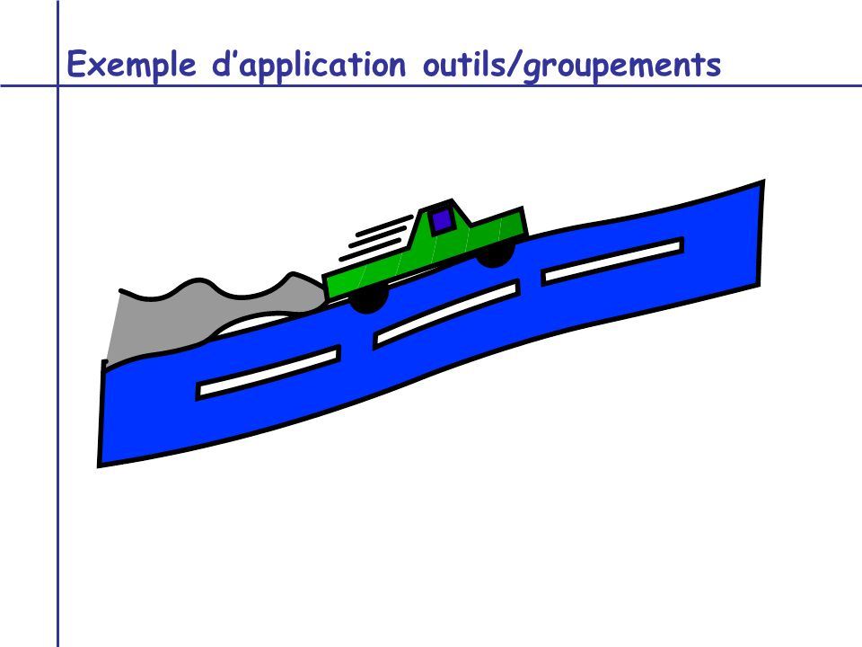 Exemple d'application outils/groupements